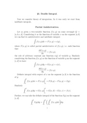 5. Double integral