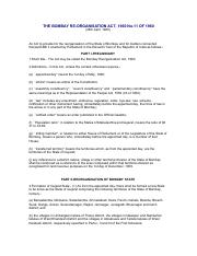 THE BOMBAY RE-ORGANISATION ACT, 1960 No.11 OF 1960.pdf