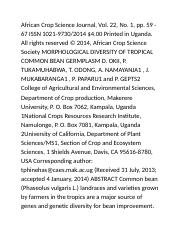 African Crop Science Journal (Page 1-2)