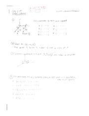 Algebra 2 AE Chapter 5 Review