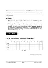 Expt-01-InclinedPlane-Worksheet