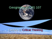 GGR107 lecture 2