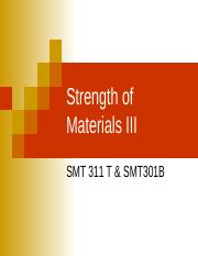 SMT 311 T - Lecture 2 Temperature effects in bars(7)
