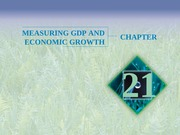 Chapter 21 - Measuring GDP