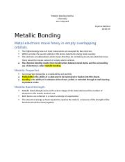 Metallic Bonding Outline.docx