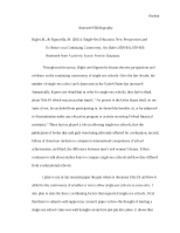 ENGL 2010 Annotated Bibliography
