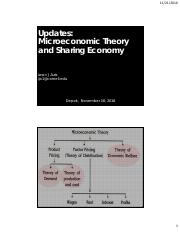 Update Microeconomic Theory