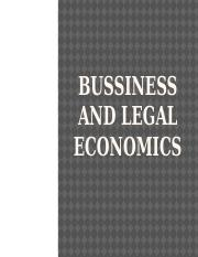 planning and economic policies(1)(2)