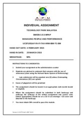 BM036-3.5-3 MPPM Individual Assignment Cover (Feb 2015)