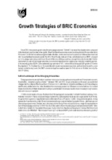 GRS0180 Growth Strategies of BRIC Economies(1)