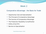 Enahoro Week 2 Comparative Advantage Trade 2013 (1)