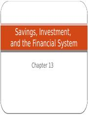 ECO204_Chapter_13_Savings_Investment_and_Financial_System_SV.pptx