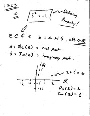 Complex numbers continued