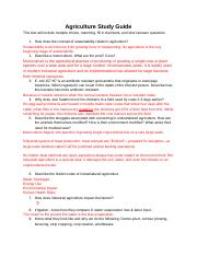 Agriculture Study Guide.docx