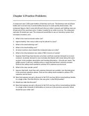 Chapter 6 Inventory Practice Problems