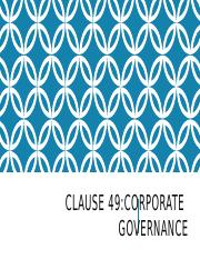 Corporate Governance CLAUSE 49.pptx