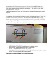 Cell Biology Chapter 19_Cell Surface and Communication_Integrin and Cell Matrix Adhesion.docx