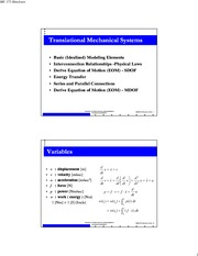 translational_mechanical