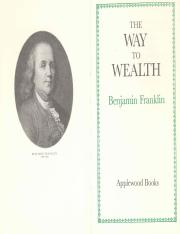 The Way to Wealth by Benjamin Franklin.pdf