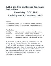7.25.3 Limiting and Excess Reactants .docx