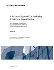 review of architecture