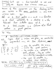 MECH 411 Equations of Linear Systems Notes