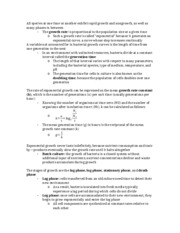 Microbiology Notes Chapter 5