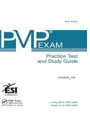[J. LeRoyWard,Ginger Levin]PMP® Exam Practice Test and Study Guide, 9th Ed.
