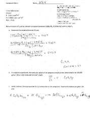 Quiz Solutions on Pressure Units