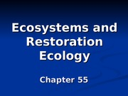 BioII Ch55 Ecosystem Ecology