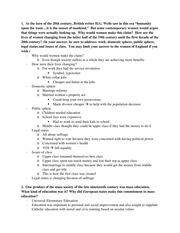 pre and post industrial revolution essay questions and answers  6 pages 20th century essay questions and answers