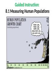 Measuring Human Population