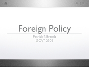 ForeignPolicyWarPowers