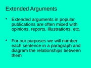1.6 Extended Arguments