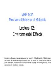Mechanical Behavior Of Materials Pdf
