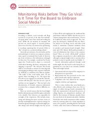 Case 3_Monitoring Risks before They Go Viral Is It Time for the Board to Embrace Social Media.pdf