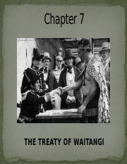 Chapter 7 The Treaty of Waitangi (2