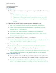 Unit Two Text Questions .docx