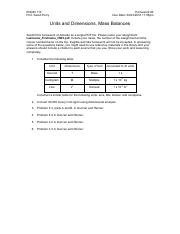 03 - Units and Dimensions, Mass Balances (1).pdf