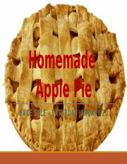 Lab 2-1 Homemade Apple Pie.pptx