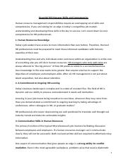 AT4 - Core competencies required by Human Resource Manager.docx