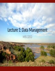 Lecture 1 - Data Management (Fall 2016).pptx