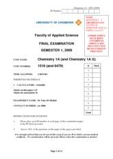 pH and POH calculations - pH and pOH Calculations 1 Determine the ...