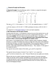 Numerical Example and Discussions-ECO6416