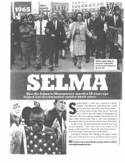 Copy of Selma Frontline Article and Questions