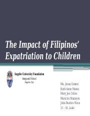 The-Impact-of-Filipinos-Expatriation-to-Children