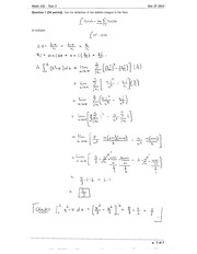 Math 122 Test 2 Solutions