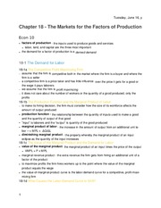 Principles of Economics - Chapter 18