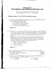 061-067 TAX CREDIT FOR FORIEGN  ESTATE   TAX