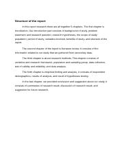 Structure of the report.docx